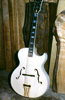 Carved top acoustic